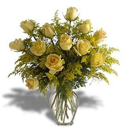 Yellow Rose European Bouquet