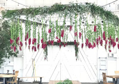 red-chandelier-wedding